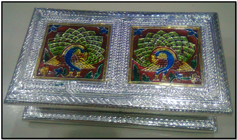 Artistic Metal Box - for Dry Fruits