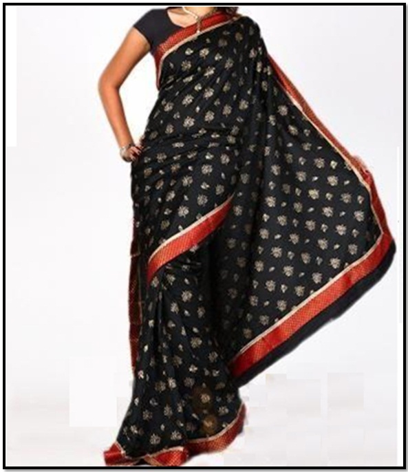 Black-Silk-Saree