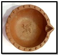 diwali-diya-clay-with-swastik-symbol