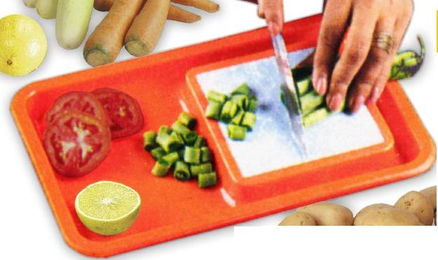 Superior Vegetable Cutting Tray